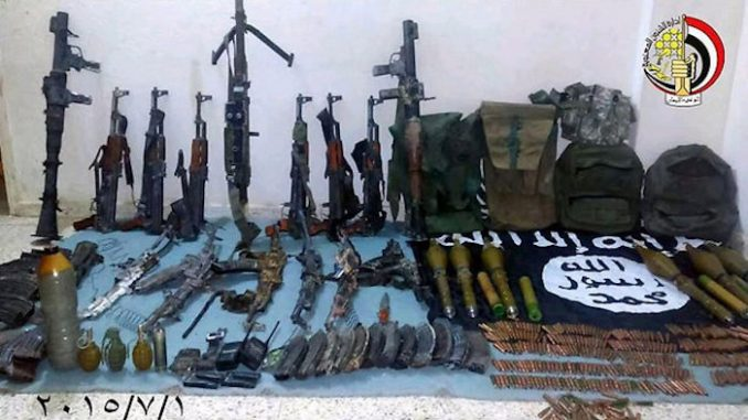 Over a third of ISIS weapons are manufactured in EU, report claims