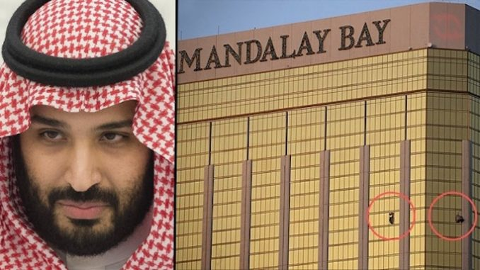 Lone wolf Las Vegas massacre cover for assassination attempt on Saudi crown prince