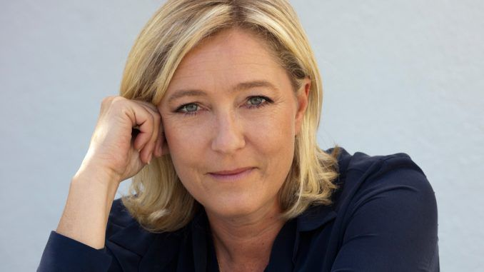 Marine Le Pen says New World Order is being dismantled from within