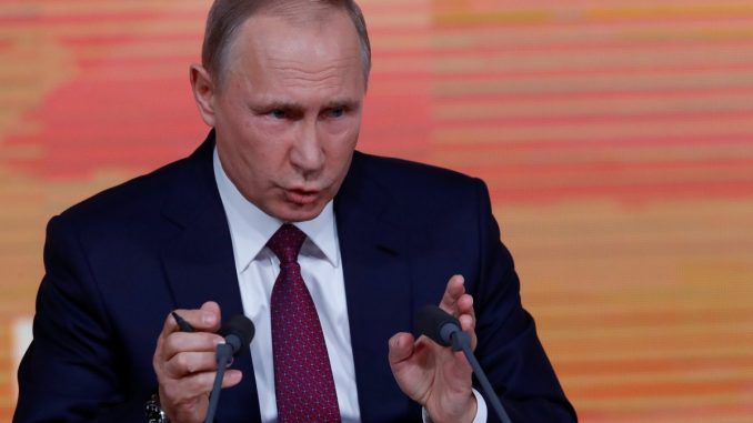 Putin claims Pentagon are hiring ISIS terrorists to fight Assad in Syria