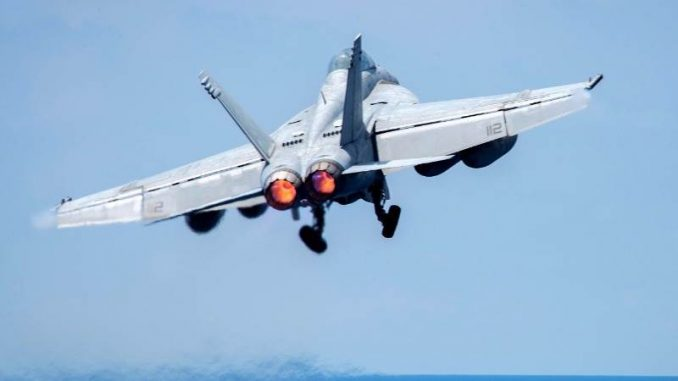 Russian jet clashes with US warplane over Russian airspace
