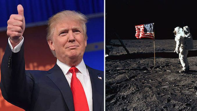 President Trump orders NASA to visit the moon for real this time