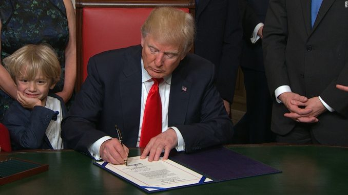 Trump removes climate change from national security threat list