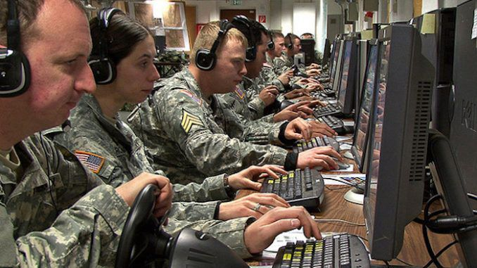 US army employ thousands of online trolls to conduct cyber warfare