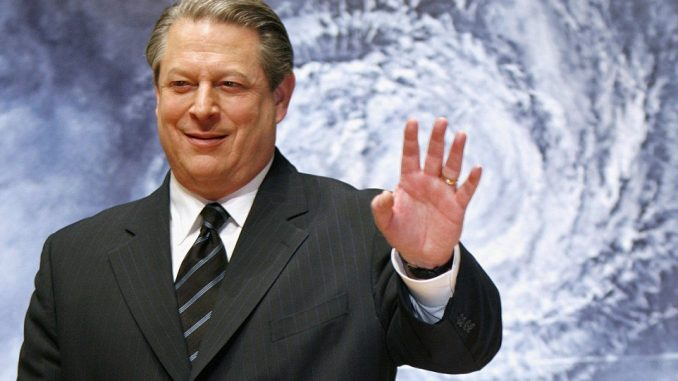 Nine years ago Al Gore predicted ice caps would completely melt