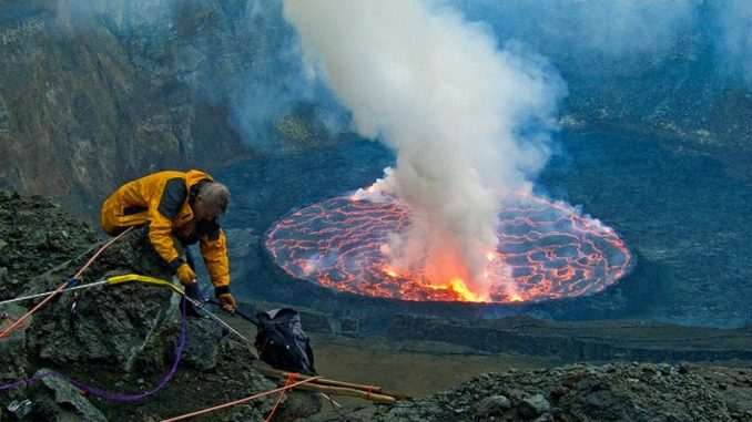 Climate scientist discover volcanoes are main cause of global warming