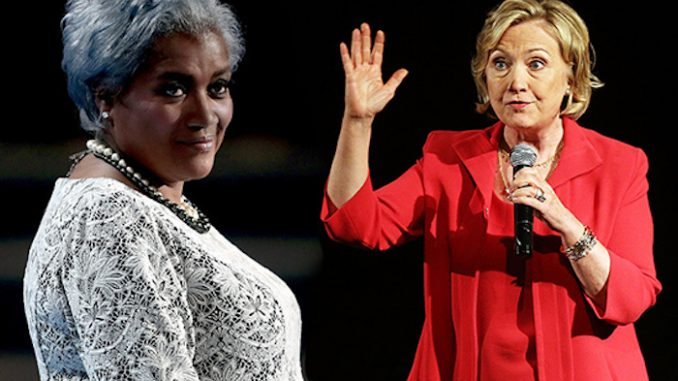 Donna Brazile claims Hillary Clinton almost died on 9/11