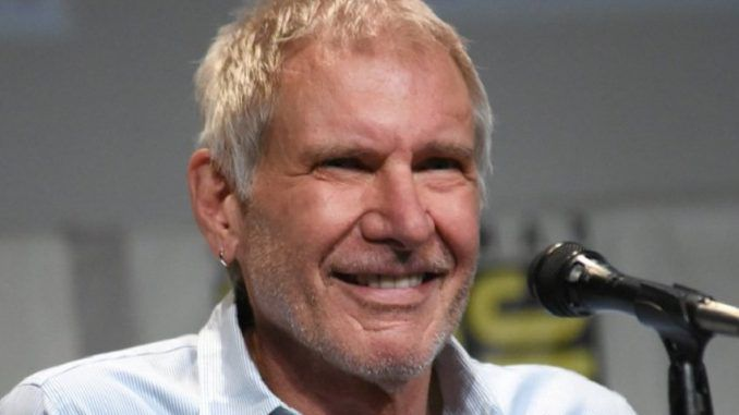 """Harrison Ford told a Norwegian radio host that Star Wars co-star Carrie Fisher was a transexual who had """"boy parts""""."""