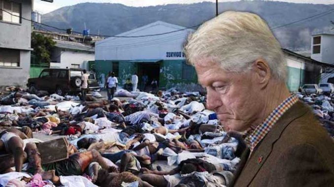 UN blames Bill Clinton for over 10,000 deaths in Haiti as a result of cholera outbreak