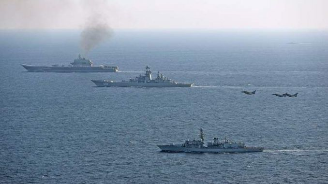 Royal Navy deployed to deter Russian warships at UK border