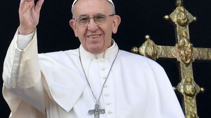 Pope Francis revises Lord's Prayer to include references to Satan