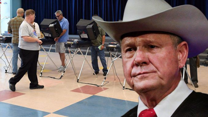 It's not some grand conspiracy, but it's grand theft all the same. Roy Moore voters in Alabama lost their ballots, their rights, by the millions on Tuesday.