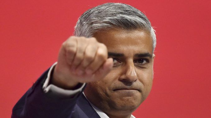 London Mayor Sadiq Khan has approved the opening of a bank that funds Jihadi terrorism and has been banned in the USA.