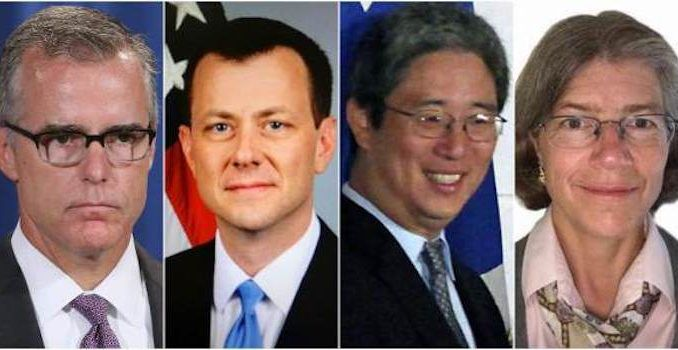 McCage, Strzok, Page Ohr family subpoenaed for sedition against United States