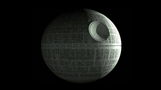China builds death star laser