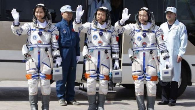 China has announced they are colonizing the moon, sending a lunar probe, complete with plant and animal life, and eventually humans.