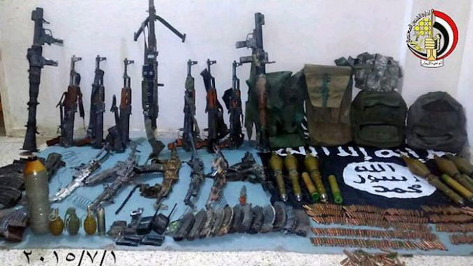 International Arms Watchdog finds most ISIS weapons were supplied by US