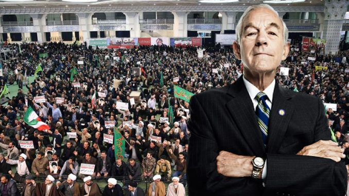Ron Paul says Iran protests have CIA fingerprints on them