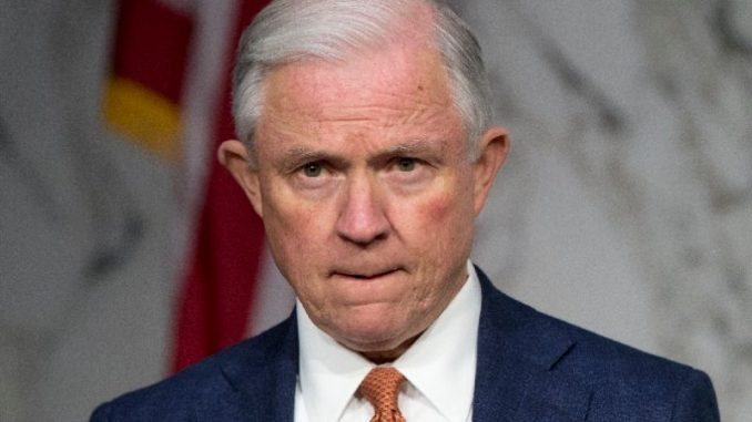 "Attorney General Jeff Sessions has vowed to drain the ""secret society"" swamp operating within the FBI and find the ""missing"" Peter Sztrok/Lisa Page text messages."