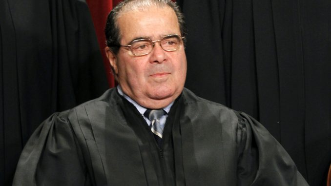 Justice Scalia supported Trump shortly before his untimely death