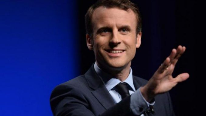 President Emmanuel Macron promises ban on Conservative websites during election season