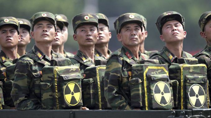 Pentagon put US military on standby for nuclear war with North Korea