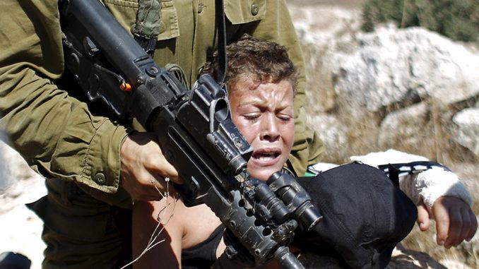 Israeli military shoot Palestinian toddler in the head