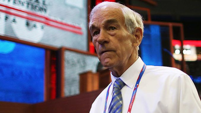 "Ron Paul has warned that America is about to meet a ""sudden, cataclysmic end"", while warning the end will not be pretty."