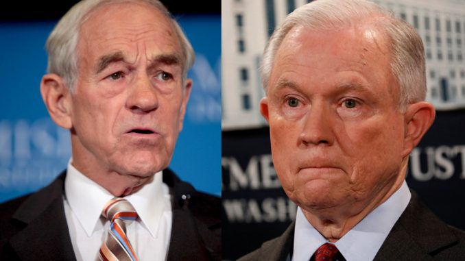 Ron Paul calls for Jeff Sessions to resign over marijuana policy