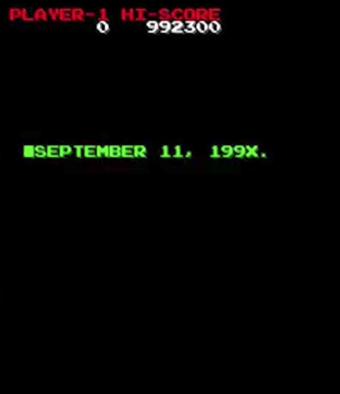 The game's events took place on September 11