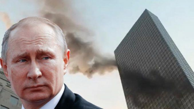 Putin says Trump Tower fire was deep state assassination attempt