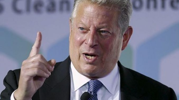 Al Gore says Earth is getting colder, because it's getting warmer