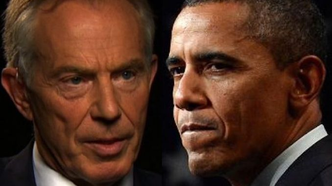 Tony Blair has ratted on former president Barack Obama, claiming he used British intelligence to spy on Trump during the 2016 campaign.