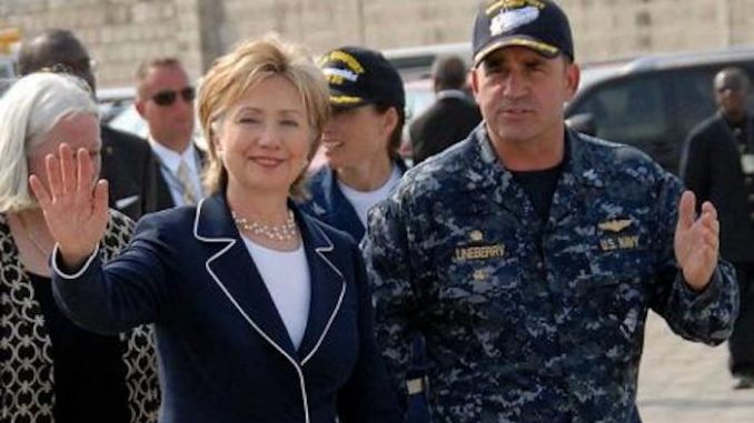 Emails reveal Clinton Foundation militarized disaster relief
