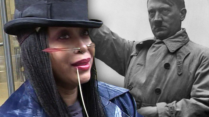 """Erykah Badu has emerged as an unlikely admirer of Hitler, telling a reporter from Variety that she """"saw something good"""" in the Nazi leader."""