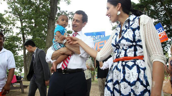 Huma Abein rekindles marriage with pedophile hubby Anthony Weiner