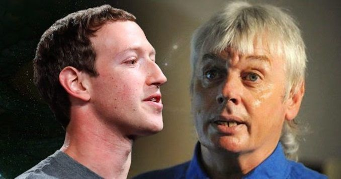 Facebook ban conspiracy theorist David Icke from their platform amid huge alternative media crackdown
