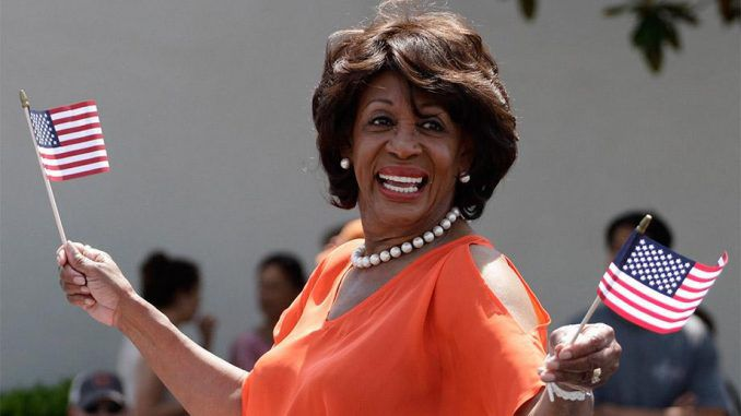 Maxine Waters voted most corrupt member of Congress
