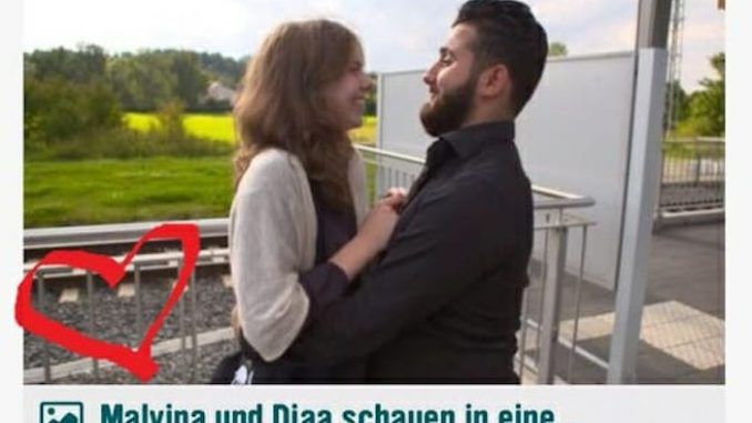 Children's TV show in Germany forces teenage girl to date adult illegal migrant