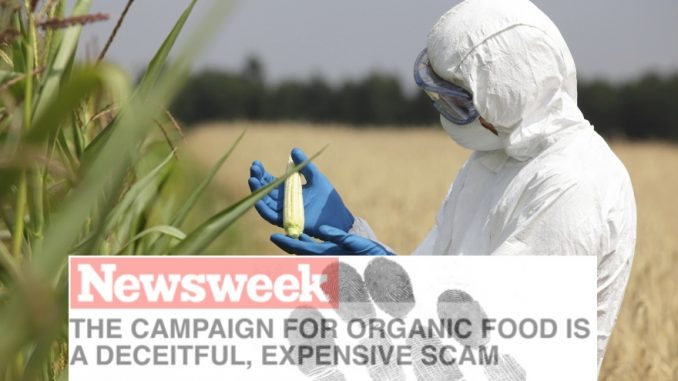 Monsanto bribes Newsweek to debunk organic food
