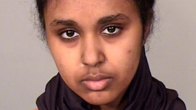Tnuza Jamal Hassan, a college student rom Minneapolis, has been charged with intentionally setting four fires at St. Catherine's University