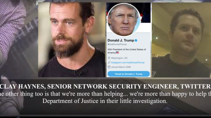 Twitter execs secretly filmed boasting about leaking Trump's private messages
