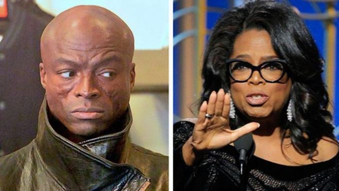 """Seal slammed Oprah Winfrey after her Golden Globes speech, saying she is a hypocrite and """"part of the problem for years."""""""