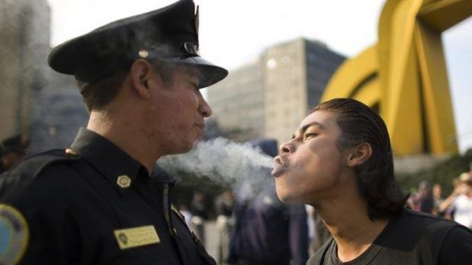 Study finds smoking weed drastically reduces violent crimes