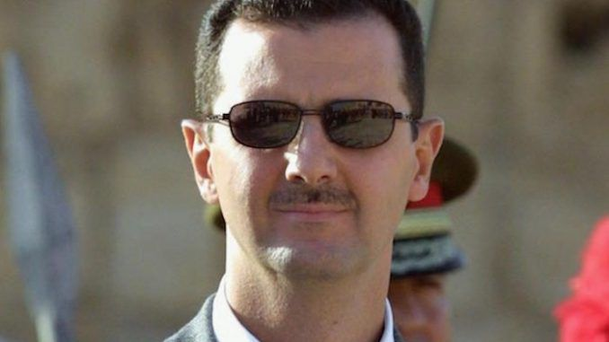 Syrian President Bashar al-Assad says he is not scared of war with Israel