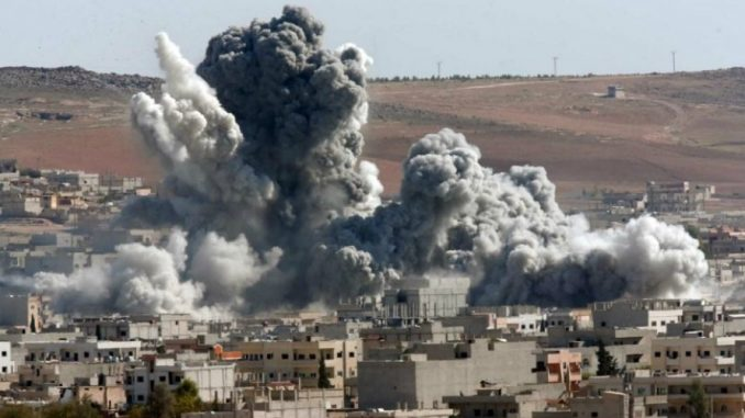More than 600 Russian soldiers liberating Syria from invading ISIS jihadists have been killed in separate targeted attacks by US forces.