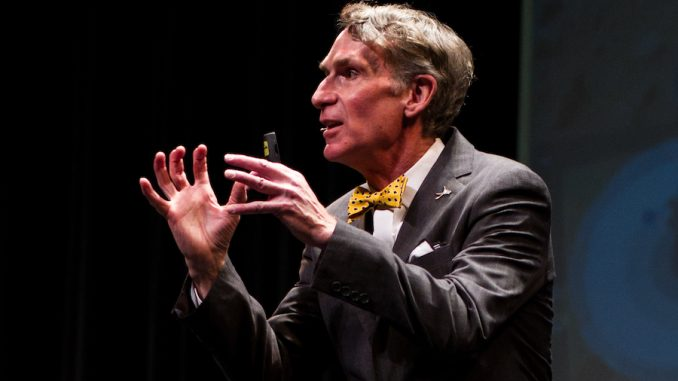 """Bill Nye the """"Science Guy'"""" has been humiliated online by a real scientist after he was caught spouting m pseudo-scientific nonsense."""