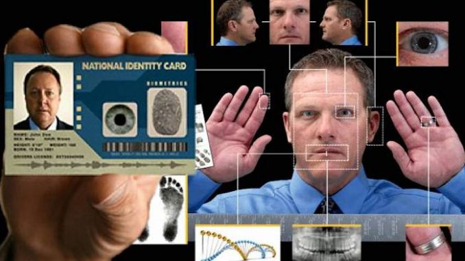 American citizens will be forced to carry a mandatory biometric ID card at all times or face arrest, if a new House bill is passed into law.