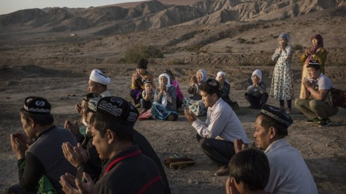 China sends its Muslims to reeducation camps