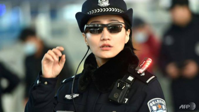 Chinese please wear smart glasses capable of instant intel on any citizen